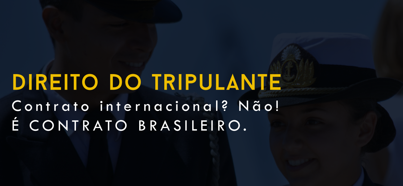 Contrato internacional? Não!  É CONTRATO BRASILEIRO!!!