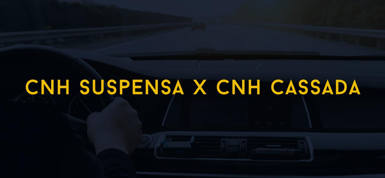CNH SUSPENSA X CNH CASSADA