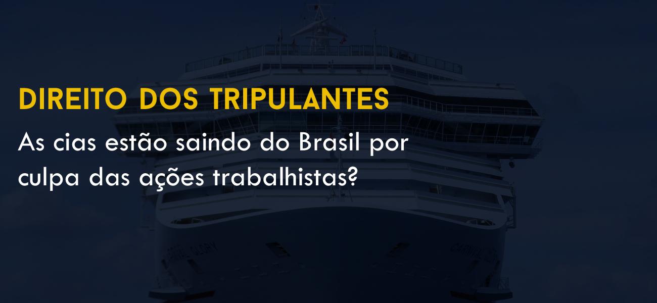 As cias estão saindo do Brasil por culpa das ações trabalhistas?